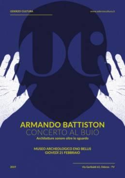 Armando Battiston concerto buio Oderzo Cultura