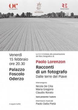 Paolo Lorenzon - Racconti di un fotografo - Oderzo Cultura